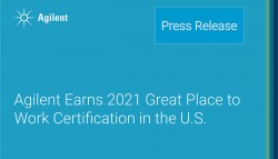 Agilent Earns 2021 Great Place to Work Certification in the U.S.
